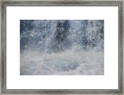Power And Beauty Of Water Framed Print by Dan Sproul