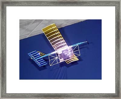 Power-beam Aircraft Research Framed Print