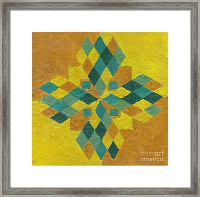 Power Star Framed Print