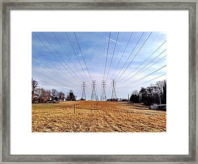 Power Framed Print