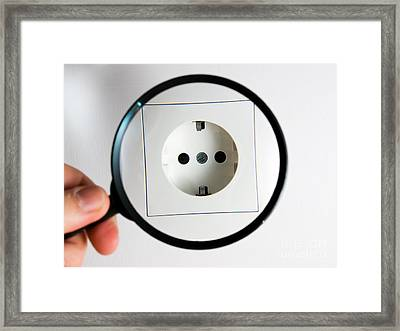 Power Consumption Framed Print by Sinisa Botas