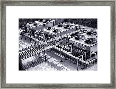 Power Cooling Framed Print by Olivier Le Queinec