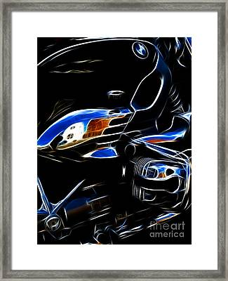 Power Cruiser Framed Print