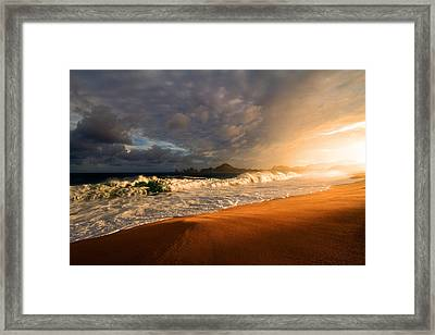 Framed Print featuring the photograph Power by Eti Reid