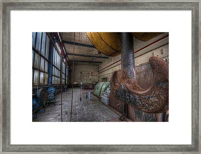 Power Generator Framed Print