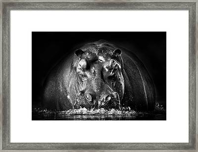 Power Framed Print by Gorazd Golob