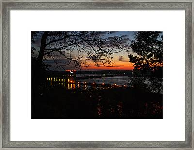 Power House Framed Print