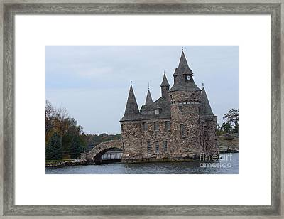 Power House Of Boldt Castle In Thousand Island Framed Print