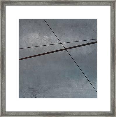 Power Lines  05 Framed Print by Ronda Stephens