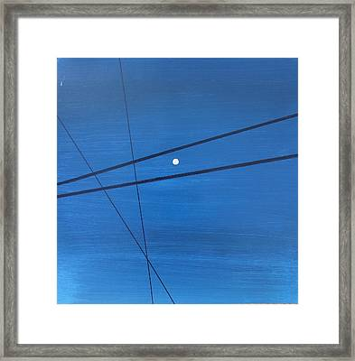 Power Lines 09 Framed Print by Ronda Stephens
