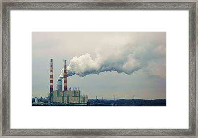 Framed Print featuring the photograph Power by Mary Zeman