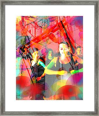 Power Of Cuba   Flamenco Framed Print