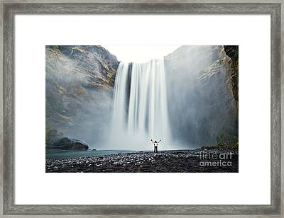 Power Of Elements Framed Print by Matteo Colombo