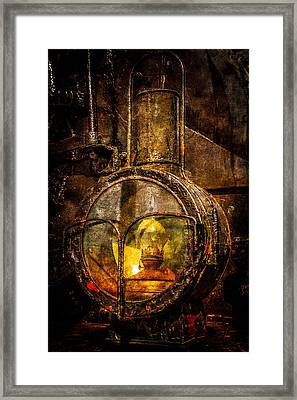 Power Of Light Reflection Framed Print by Alexander Senin
