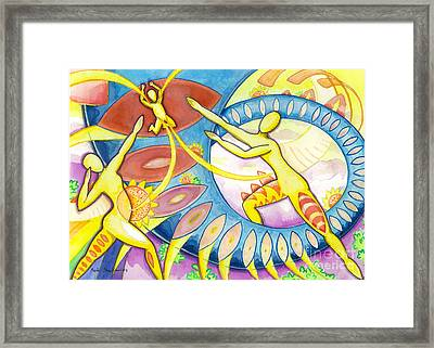 Power Of The Dance - Family Framed Print by Mark Stankiewicz