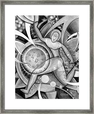 Power Of The Dance - Flowering Framed Print by Mark Stankiewicz