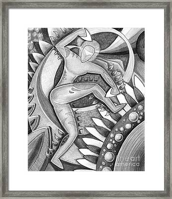 Power Of The Dance - Gabe's Music Framed Print by Mark Stankiewicz