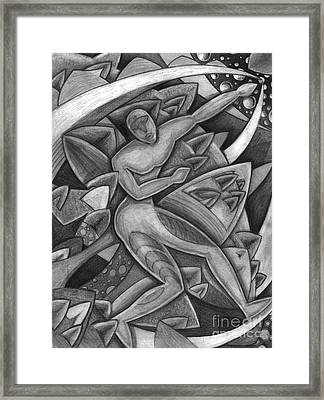 Power Of The Dance - Reach Framed Print by Mark Stankiewicz