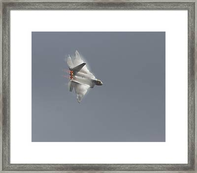 Power Of The Raptor Framed Print by Nathan Rupert