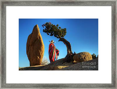 Power Of Thought 1 Framed Print by Bob Christopher