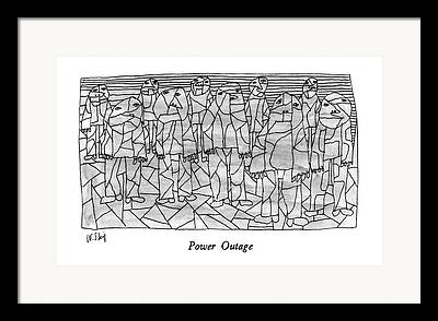 Power Outage Framed Prints