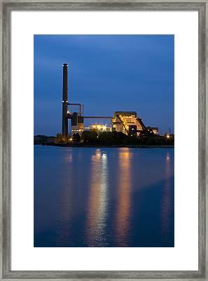Power Plant Framed Print by Adam Romanowicz