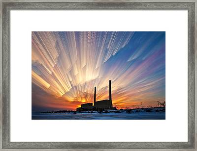 Power Plant Framed Print by Matt Molloy