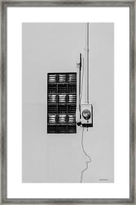 Power Point Framed Print