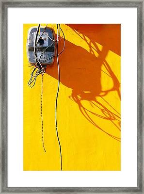 Power Shortage Framed Print by Prakash Ghai