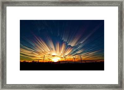 Power Source Framed Print by Matt Molloy
