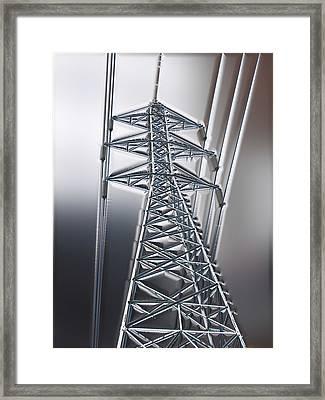 Power Station - Cool Optimized For Metallic Paper Framed Print