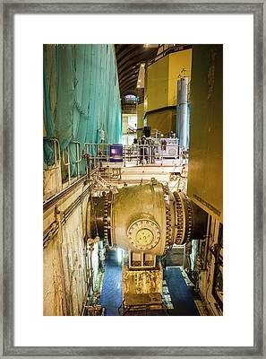 Power Station Hydro Turbines Framed Print