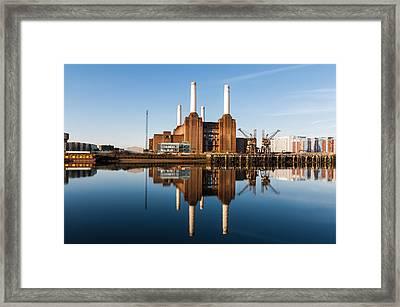 Power Station Framed Print