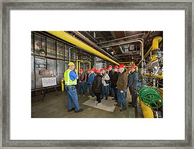 Power Station Tour Framed Print by Jim West