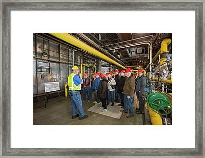 Power Station Tour Framed Print