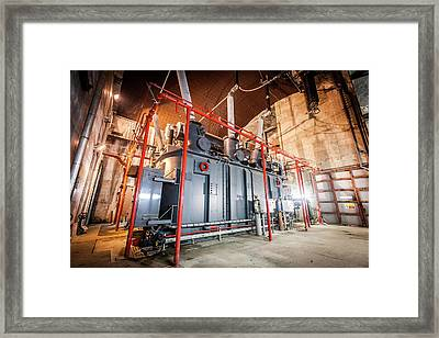 Power Station Transformer Framed Print by Gustoimages