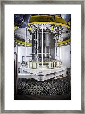 Power Station Turbine Framed Print by Gustoimages