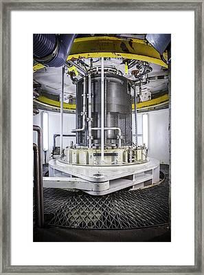 Power Station Turbine Framed Print