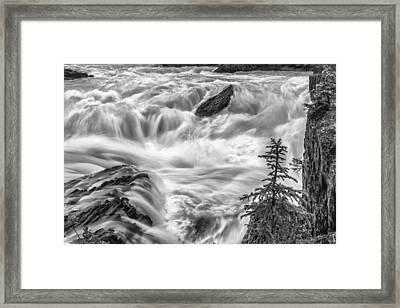 Power Stream Framed Print