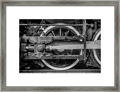 Framed Print featuring the photograph Power Stroke by Ken Smith
