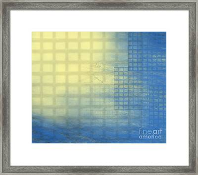 Power Framed Print by Trilby Cole