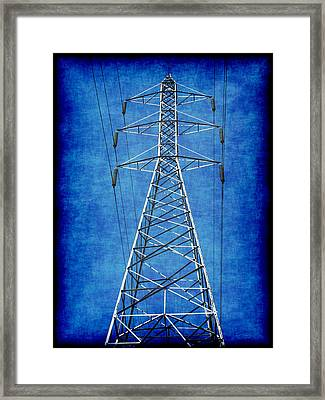 Power Up 1 Framed Print by Wendy J St Christopher