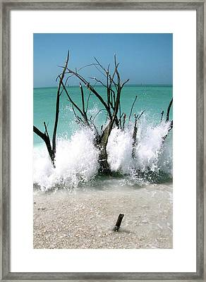 Power Wave  Framed Print