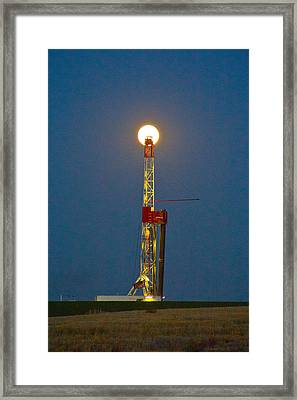 Powered By The Moon Framed Print