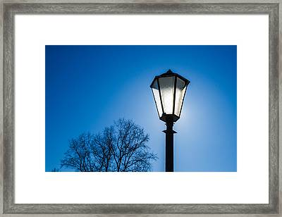 Powered By The Sun - Featured 3 Framed Print by Alexander Senin