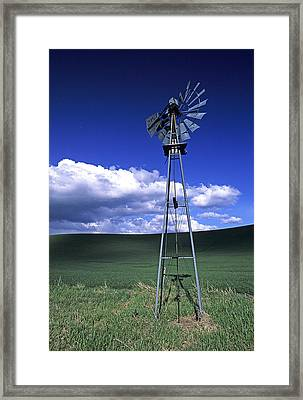 Powered Down Framed Print by Latah Trail Foundation