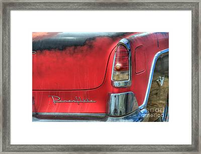 Powerflite Framed Print by Bob Christopher