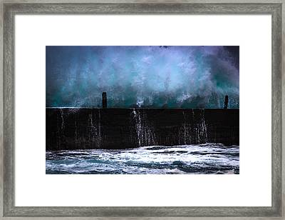 Framed Print featuring the photograph Powerful by Edgar Laureano