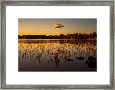 Powerful Peace Framed Print by Rose-Maries Pictures