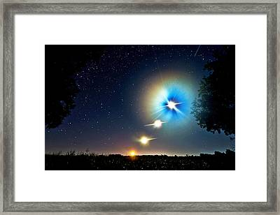 Powerful Planets Framed Print